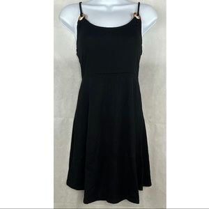 Forever 21 Black Knit Dress Spaghetti Strap -S-NWT